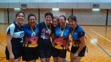 2014 Season 2 - the bonze medal match motley crew Geckos and Cougars